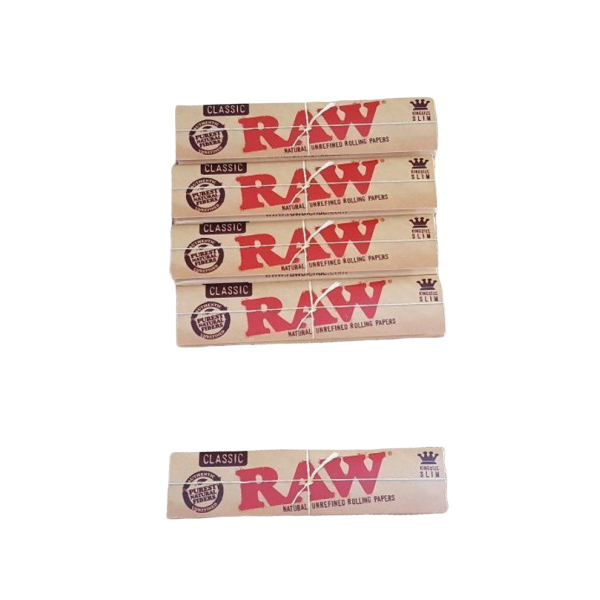 RAW Classic King Size Slim Buy 4 Get 1 FREE! 1