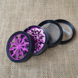 Purple Flash Aluminium Grinder