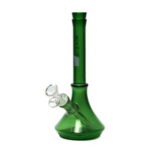 GRAV Soft Secret Glass Beaker Bong - Green
