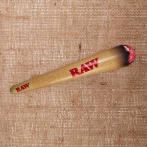 Raw inflatable cone