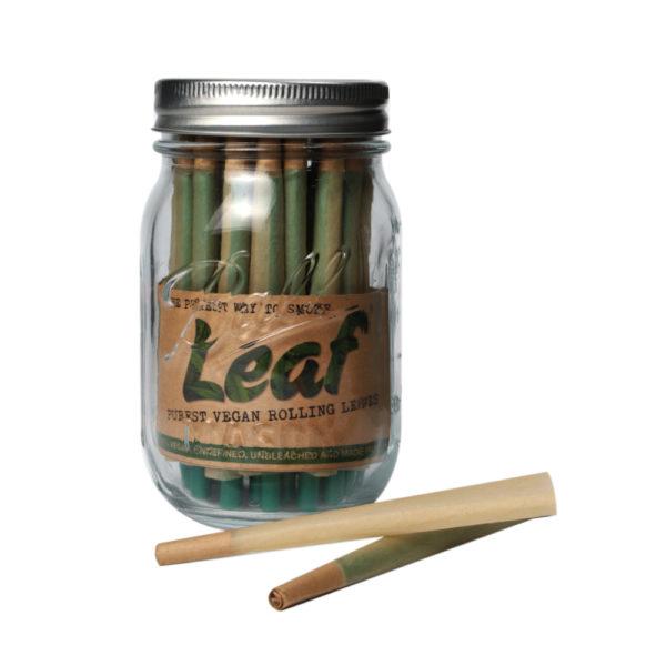 LEAF Pre-Rolled Cones (40) in 16oz Ball Mason Jar 2