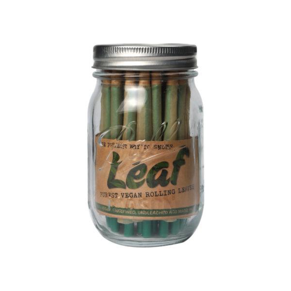 LEAF Pre-Rolled Cones (40) in 16oz Ball Mason Jar 1