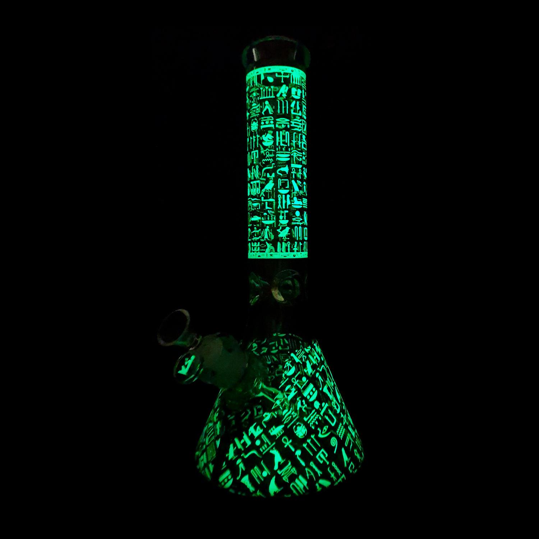 Pharaohs Secret – Glow in Dark Beaker Bong 1 – 1500x1500x75