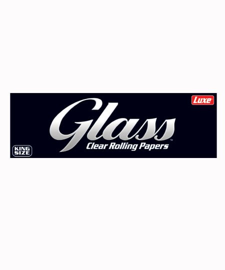 GLASS Clear Celluslose Rolling Papers