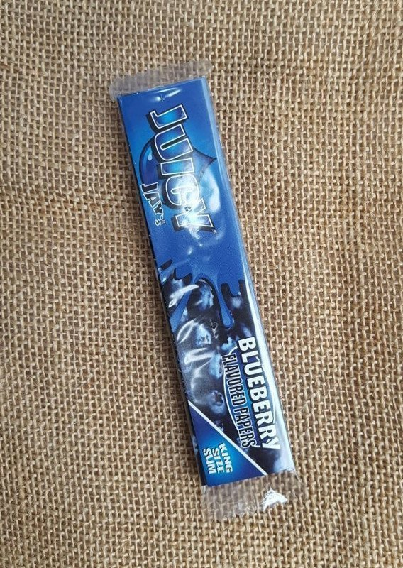 Juicy Jay Flavoured Papers - Blueberry 1