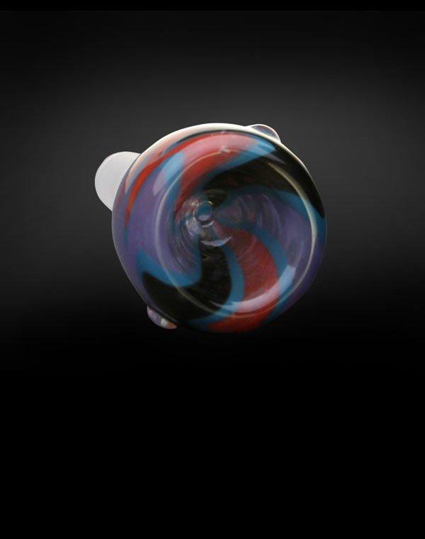 Hand blown Pyrex Glass Bowl Hurricane
