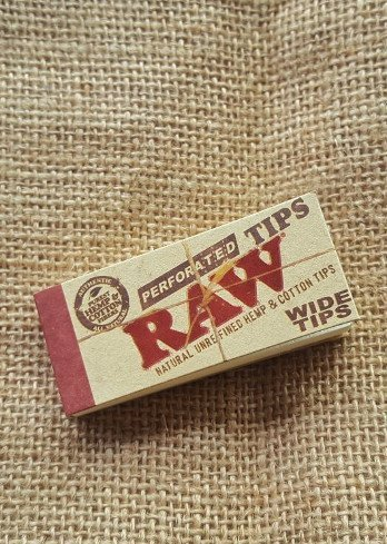 RAW Hemp Filter Tips wide 1
